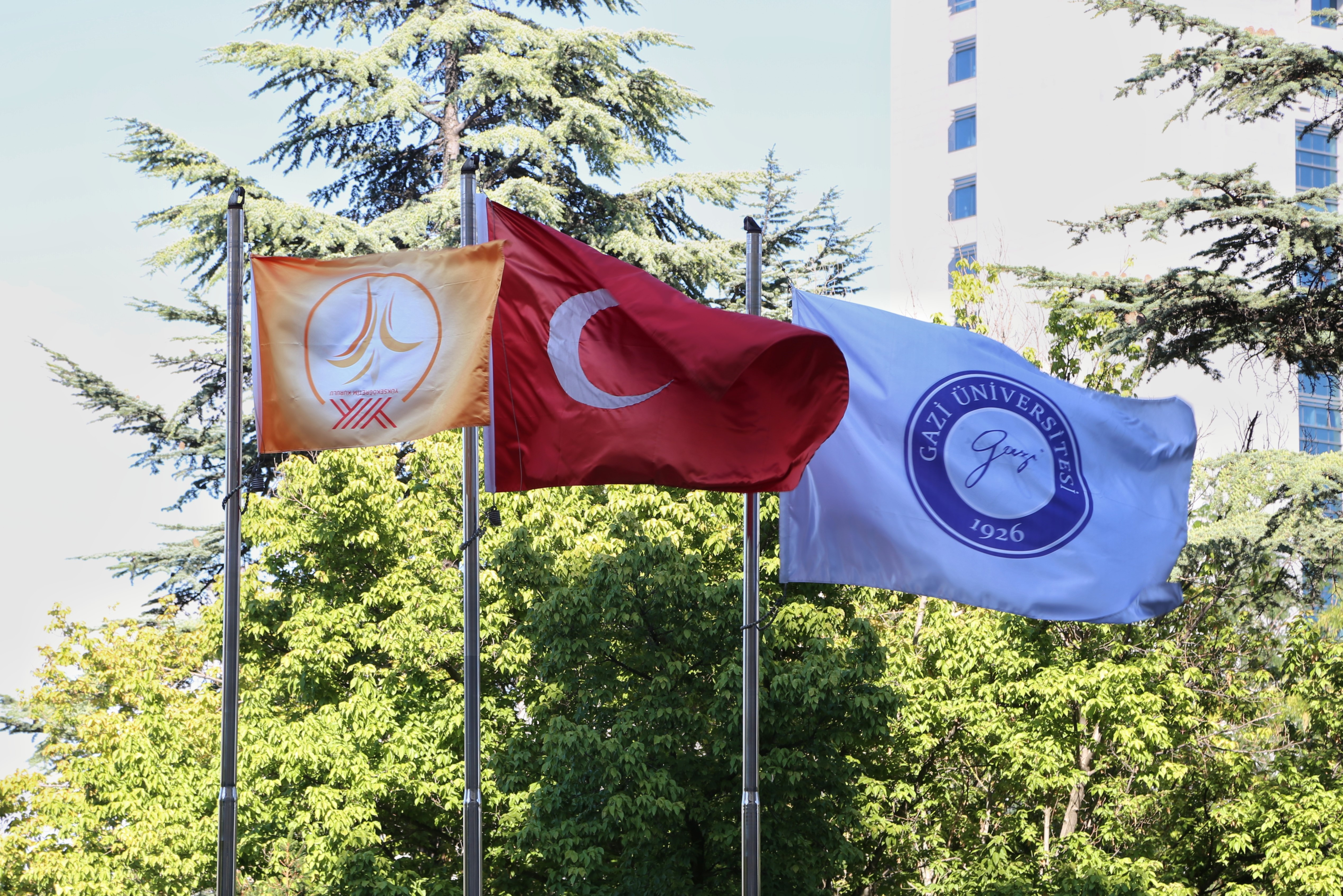 Orange Flag' Award to our University by the council of Higher Education (YÖK)