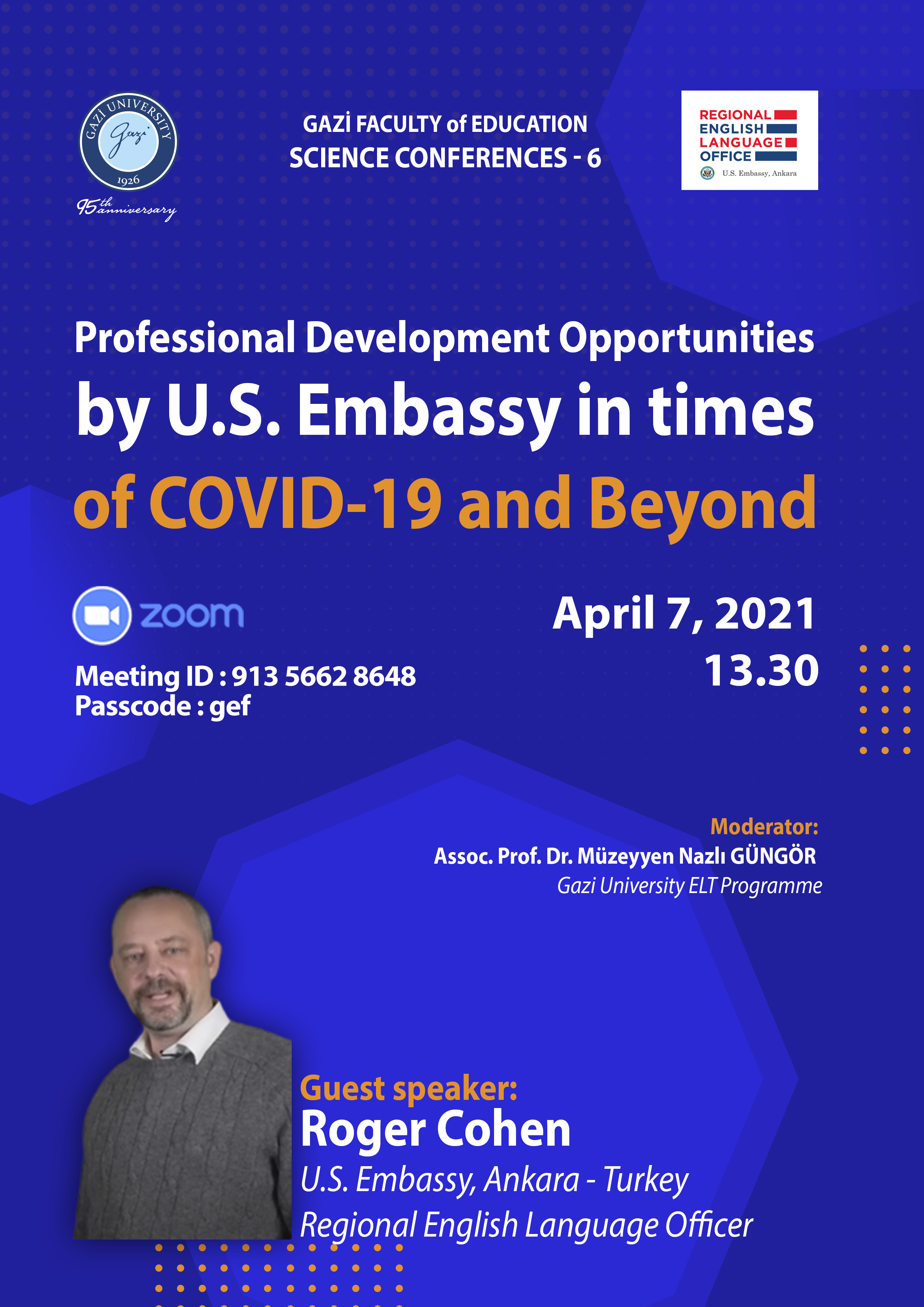 Professional Development Opportunities by U.S. Embassy in times of COVID-19 and Beyond