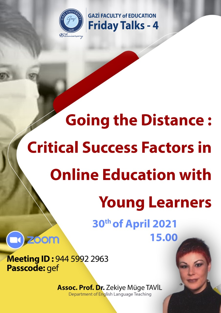 Going the Distance : Critical Success Factors in Online Education with Young Learners
