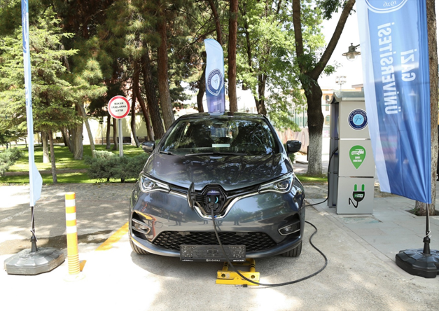 Electric Vehicle Charging Station Now Serving on Our Main Campus