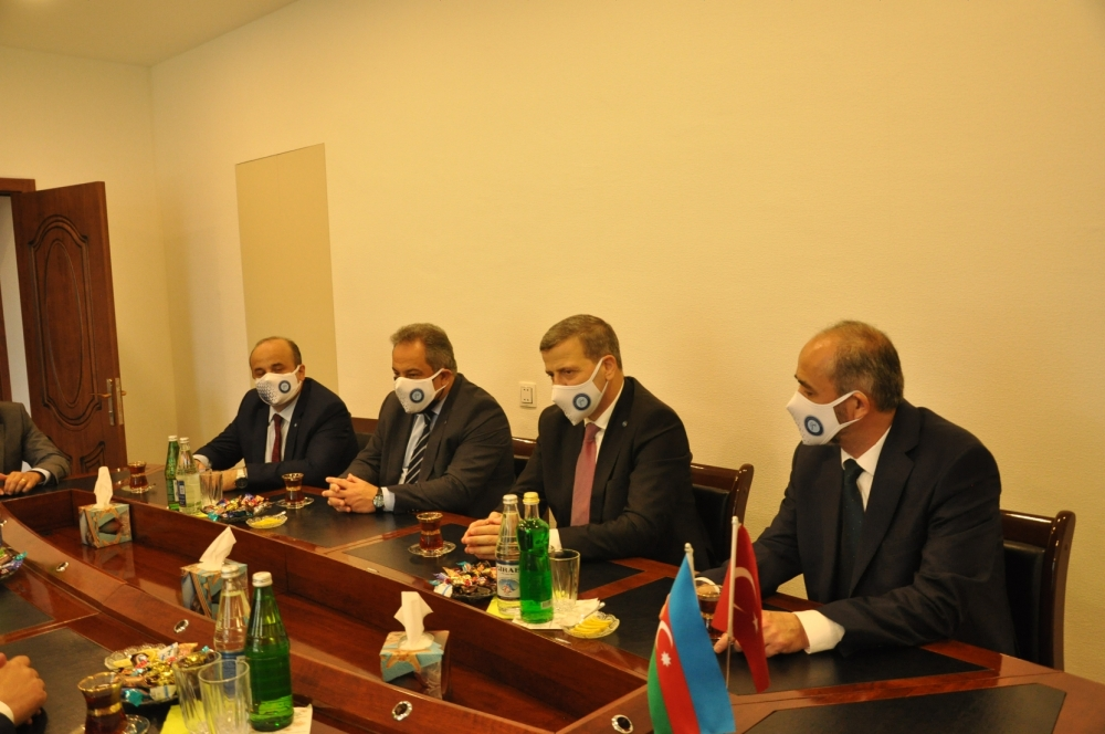 Cooperation Protocol Signed Between Our University and Azerbaijan Mingachevir State University