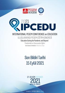 2021 Uluslararası Pegem Eğitim Kongresi