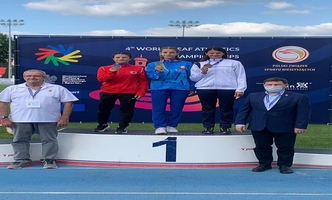 Aysun Akay, Student of the Faculty of Sports Sciences of our university, came second in the world